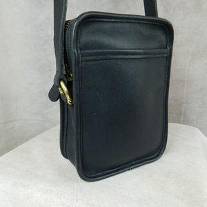 COACH Kit Camera Bag 9973 Brass Navy Vintage